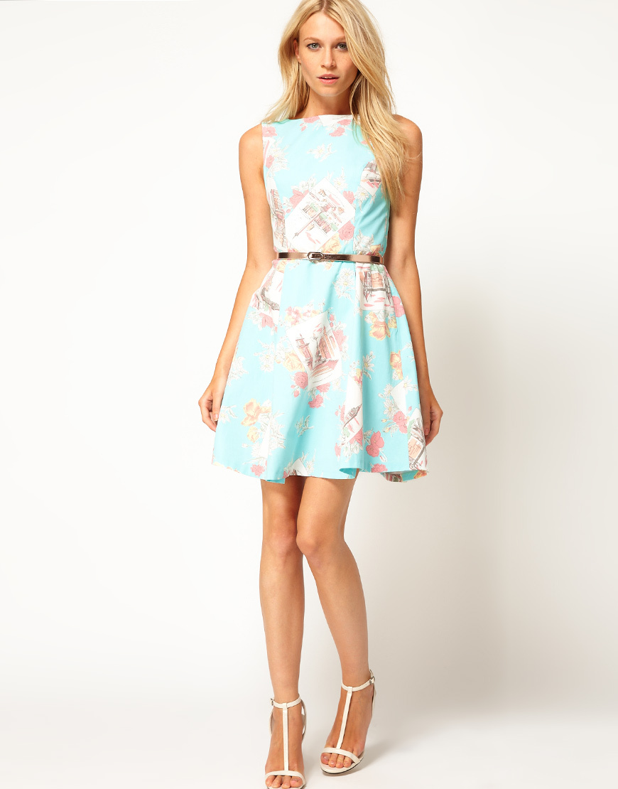 Stylish Bridesmaid Dresses from Asos 2013 Bridal Party Trends pretty prints