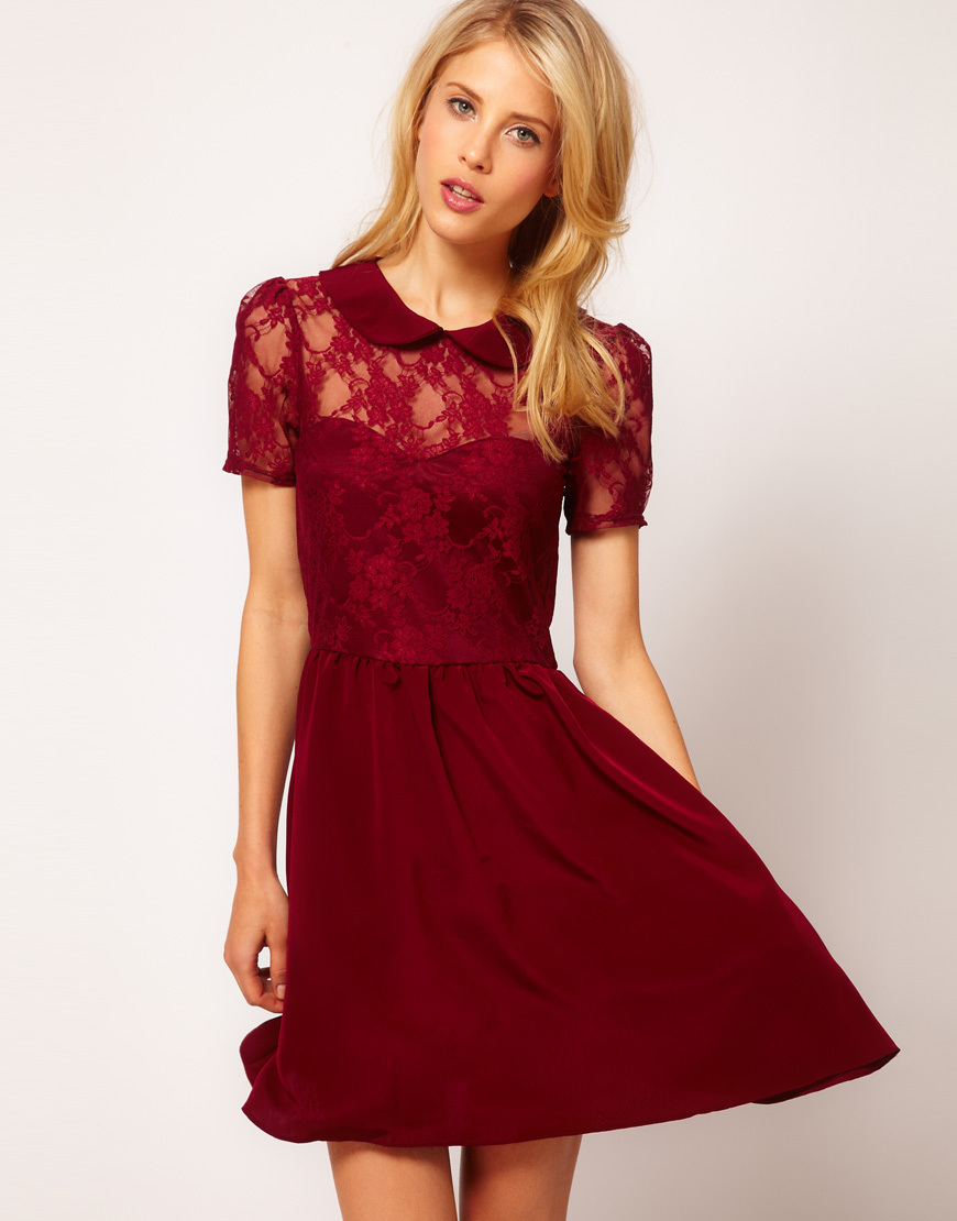 Stylish-bridesmaid-dresses-from-asos-2013-bridal-party-trends-maroon-lace.full