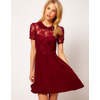 Stylish-bridesmaid-dresses-from-asos-2013-bridal-party-trends-maroon-lace.square