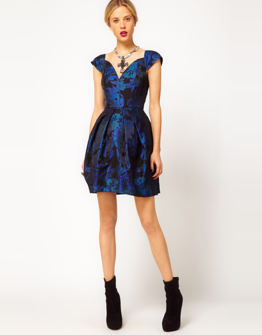 Stylish Bridesmaid Dresses from Asos 2013 Bridal Party Trends Jacquard