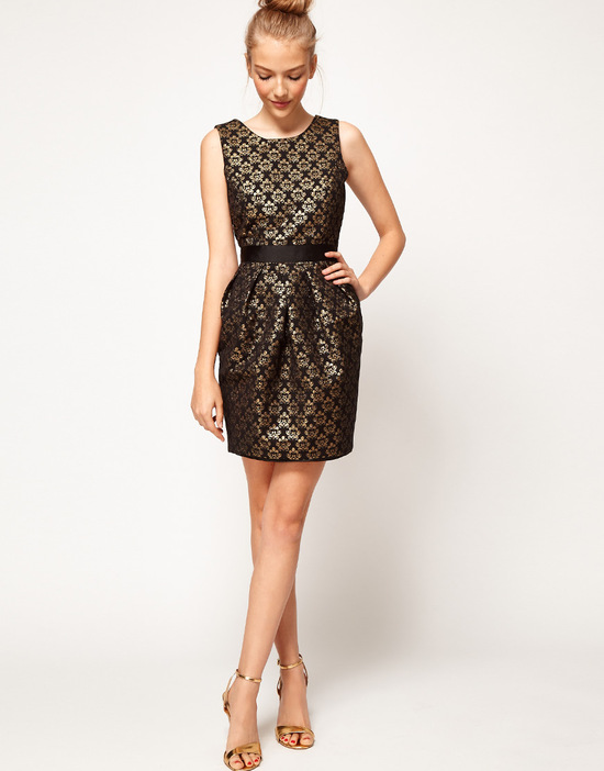 Stylish Bridesmaid Dresses from Asos 2013 Bridal Party Trends Jacquard 2