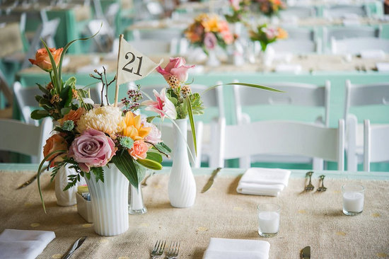 Unique Wedding Reception Table Numbers Handmade Weddings 9