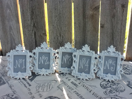 Unique Wedding Reception Table Numbers Handmade Weddings 26