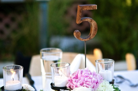 Unique Wedding Reception Table Numbers Handmade Weddings 6
