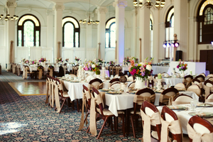 photo of Classic Summer Wedding Elegant Reception Venue