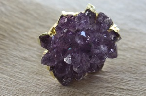 photo of Elegant Amethyst Wedding Jewelry & Accessories