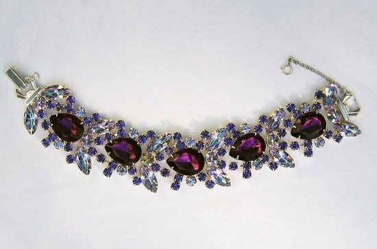 Elegant Amethyst Wedding Jewelry Bridal Accessories 6