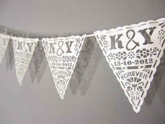 Handmade Wedding Finds Laser Cut banner