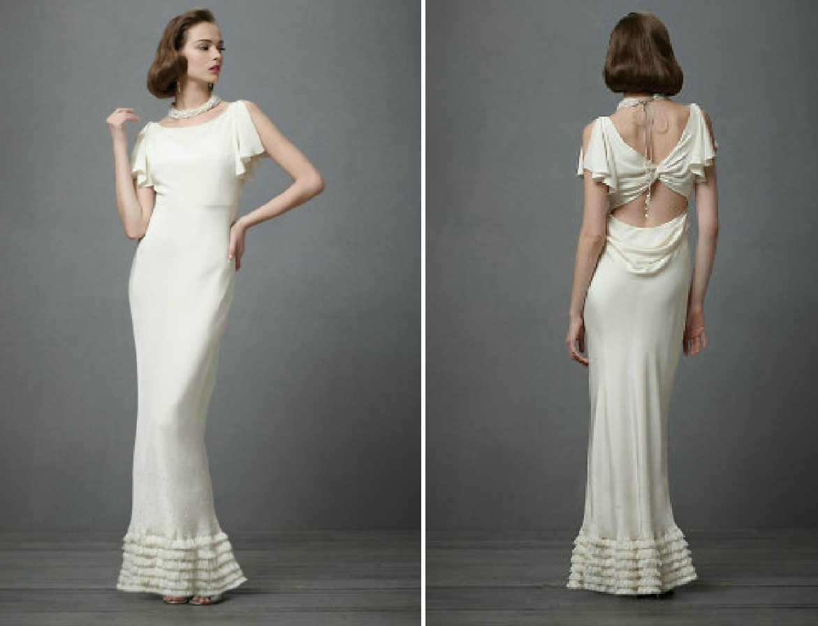 Similiar 1930 Style Bridal Gowns Keywords