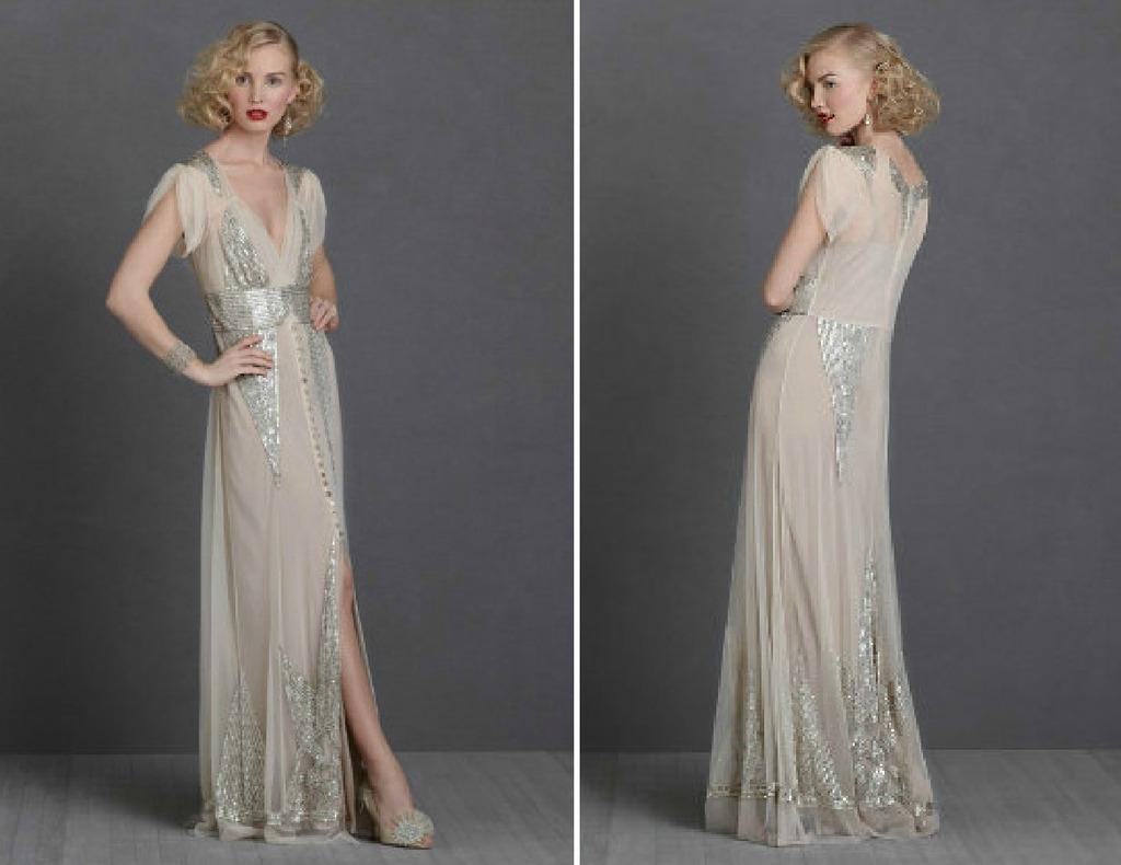 Vintage Wedding Ideas 1930s bridal style gowns BHLDN