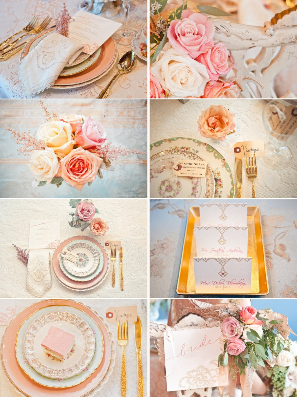 Rose gold wedding inspiration onewed rose gold ruffly wedding chair - Wedding Color Inspiration Gold Peach Cream