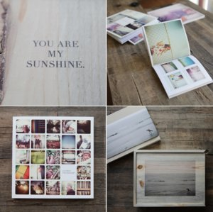 photo of Semi-DIY Wedding Albums