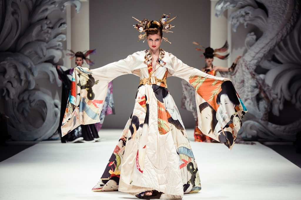 Traditional Bridal Kimono for Cultural Weddings