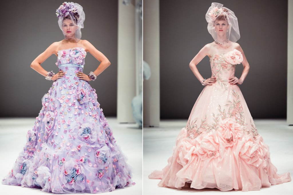 Fairy-tale-romance-wedding-inspiration-light-pink-purple-bridal-gowns.full