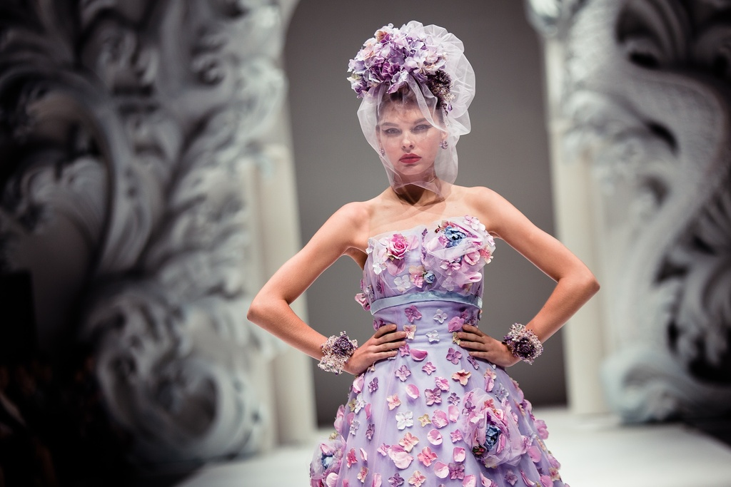 Whimsical-wedding-inspiration-floral-embellished-bridal-gown-lilac-lavender.full