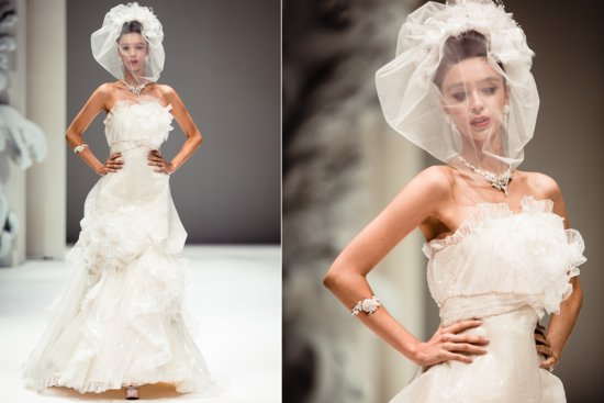 Strapless Couture Wedding Dress by Yumi Katsura Fall 2013