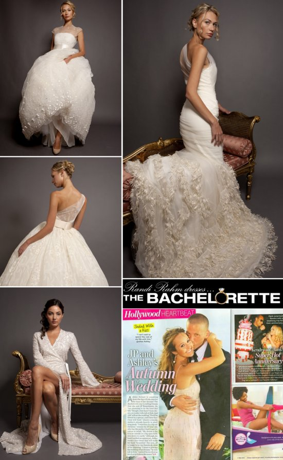 Ashley Hebert Wedding Dress Designer Randi Rahm bridal gowns 4