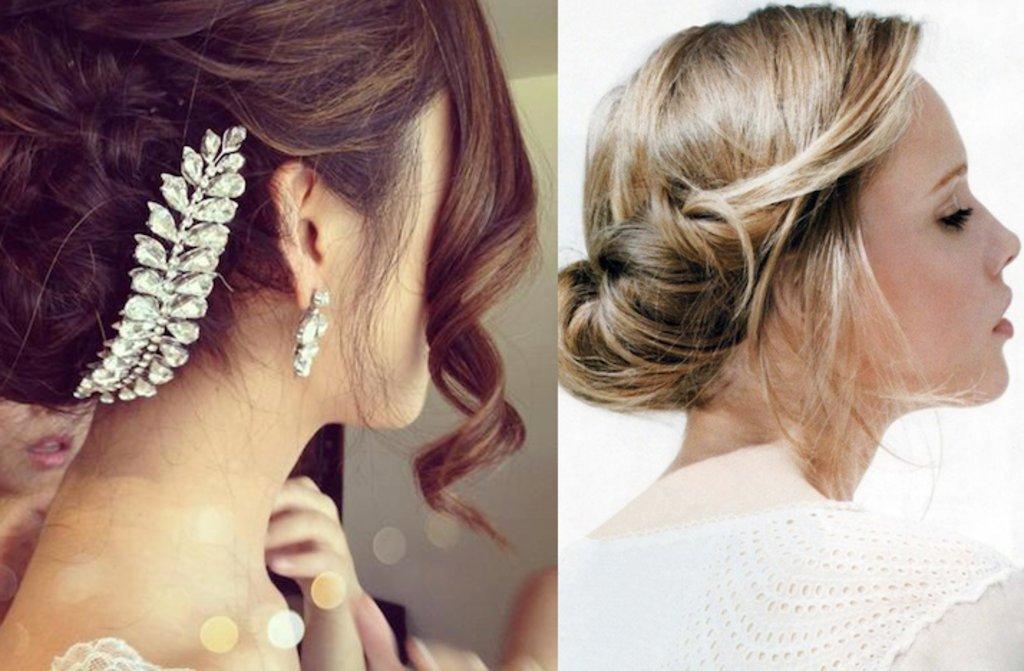 Romantic Bridal Updos Soft Waves Wedding Hairstyles 4