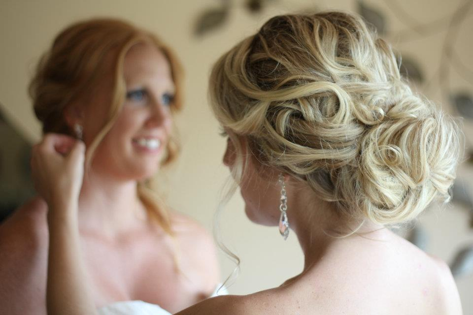 Romantic Bridal Hairstyle : Romantic bridal updos soft waves wedding hairstyles