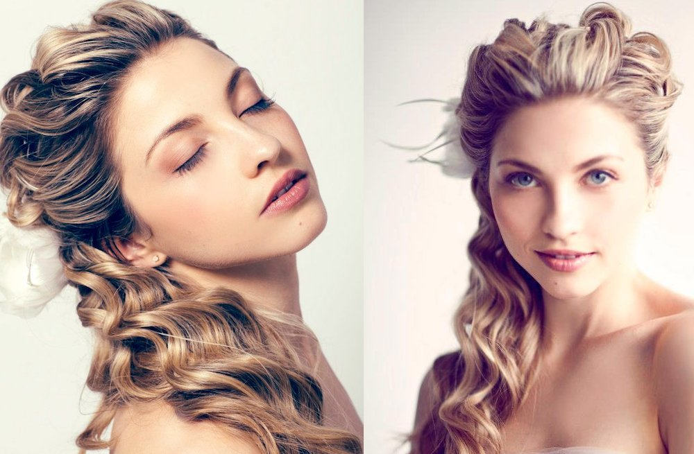 Romantic-bridal-updos-long-loose-waves-half-up.full