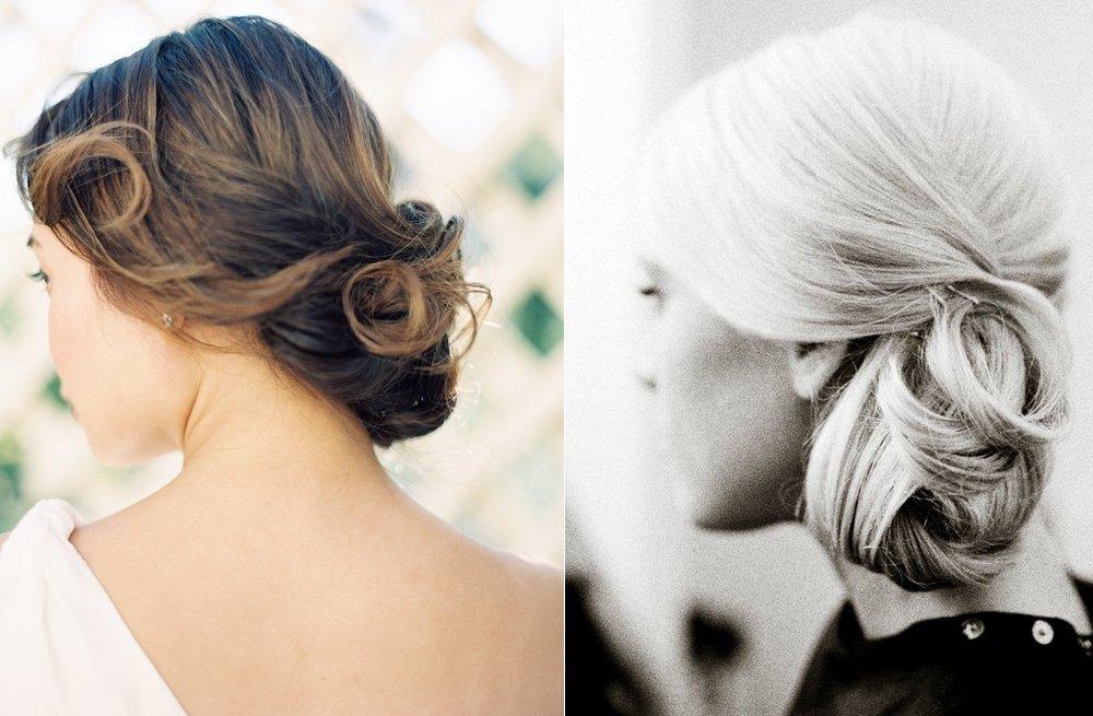 Simple Wedding Hair Styles: Simple Bridal Updos Outdoor Wedding