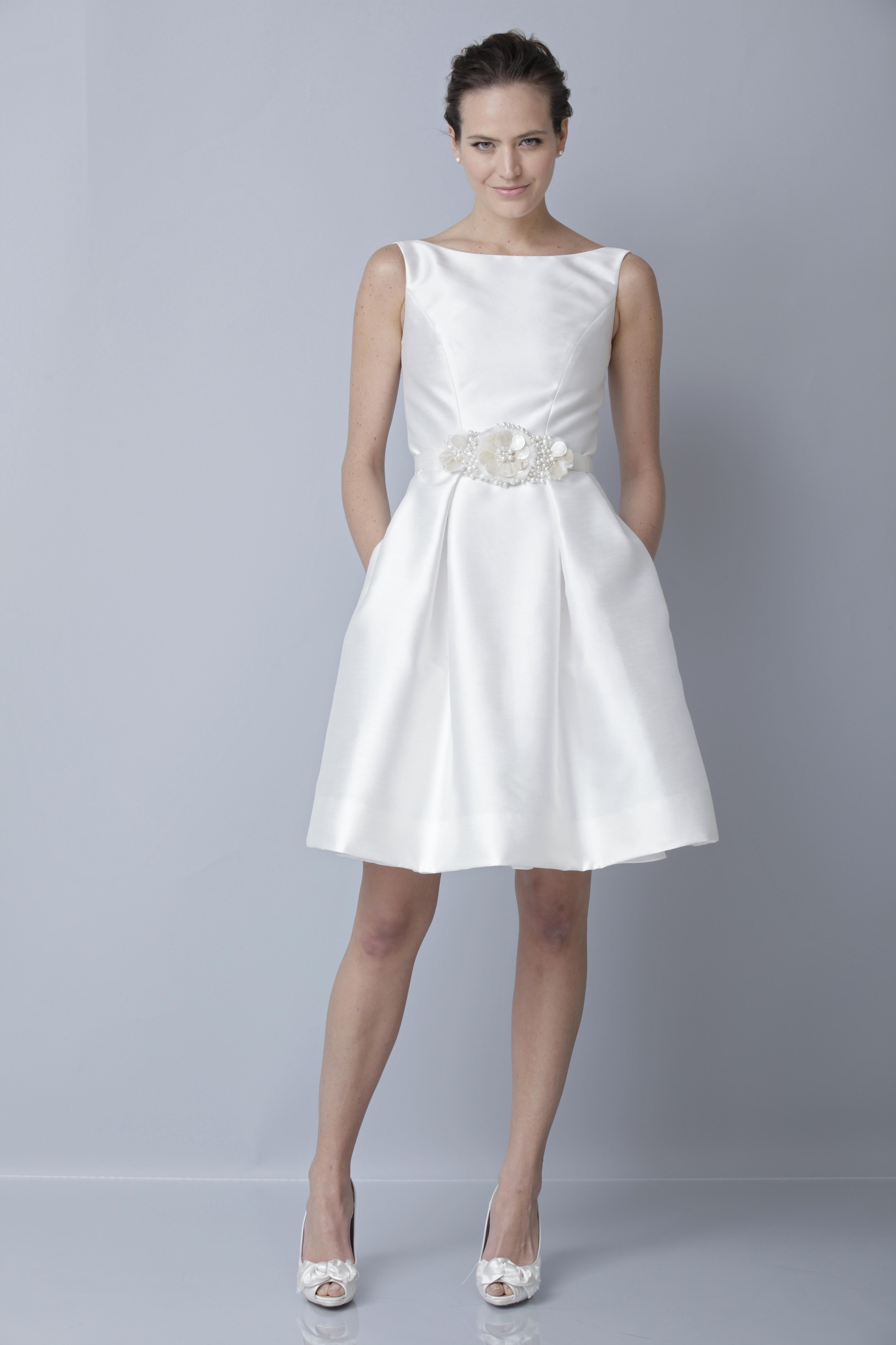 Theia White Collection Wedding Dress Spring 2013 Bridal