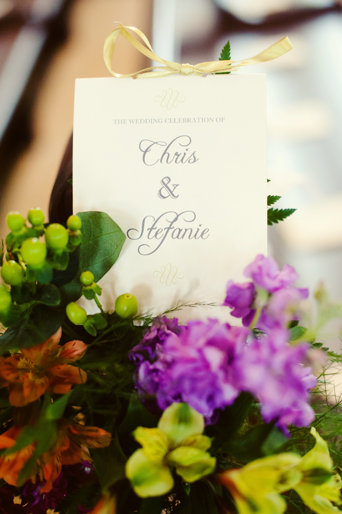 photo of Sweet Summer Wedding Infused with Color