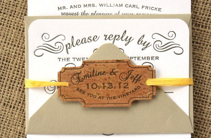 handmade wedding finds for unique weddings cork With handmade wedding invitations cork