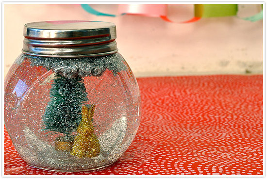 photo of Winter Wedding Ideas DIY Snow Globe Decor 2
