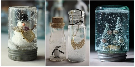 Winter Wedding Ideas DIY Snow Globe Decor 1