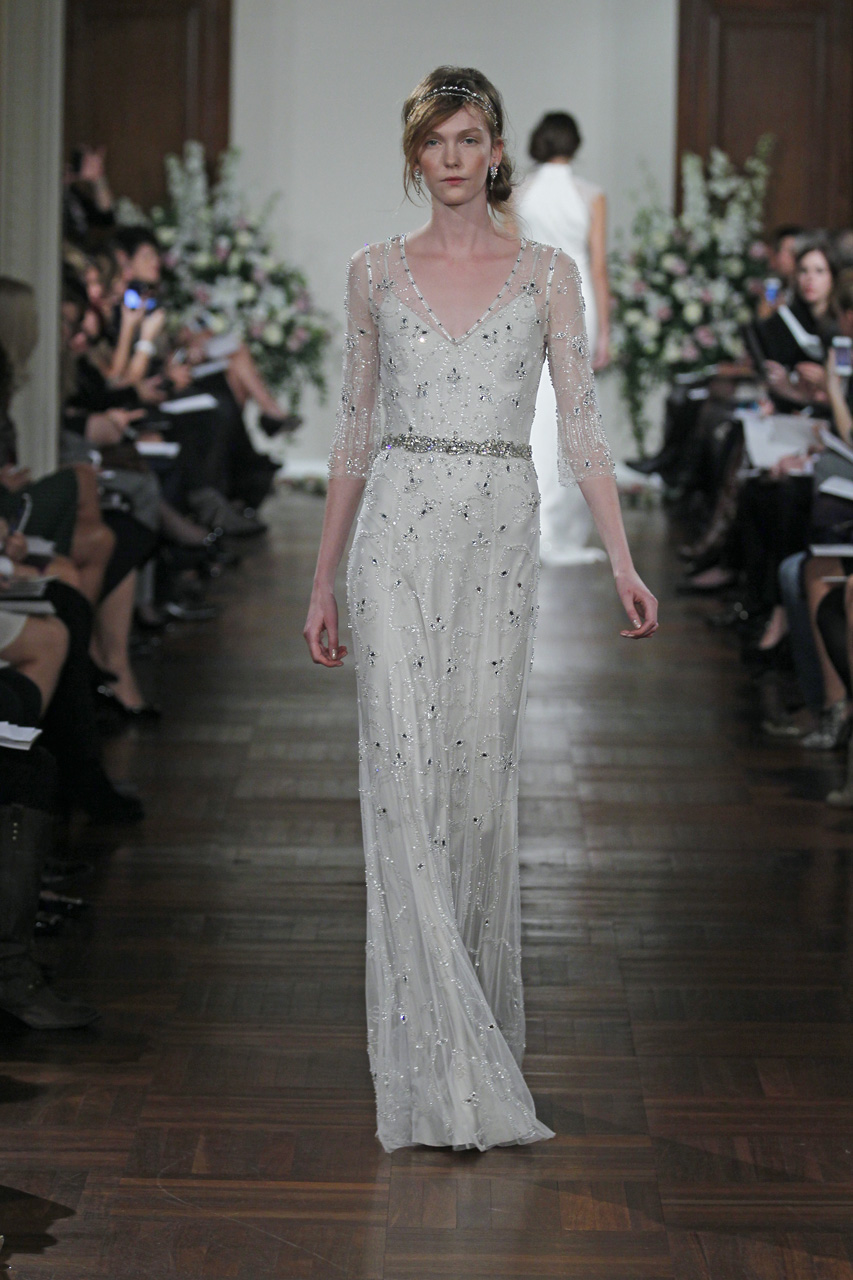 Spring 2013 Wedding Dress Jenny Packham Bridal Gowns Tuberose