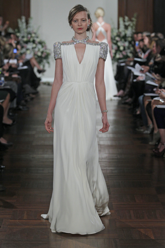Spring 2013 Wedding Dress Jenny Packham bridal gowns Tease