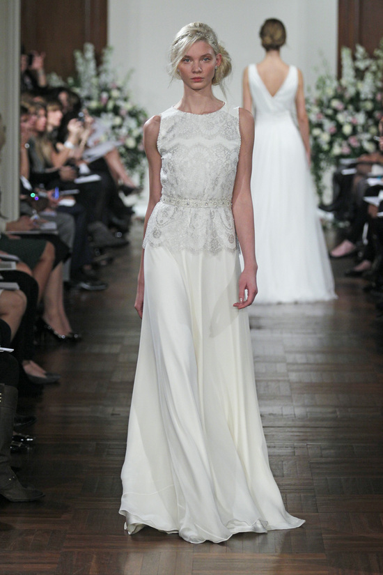 Spring 2013 Wedding Dress Jenny Packham bridal gowns Silverbell
