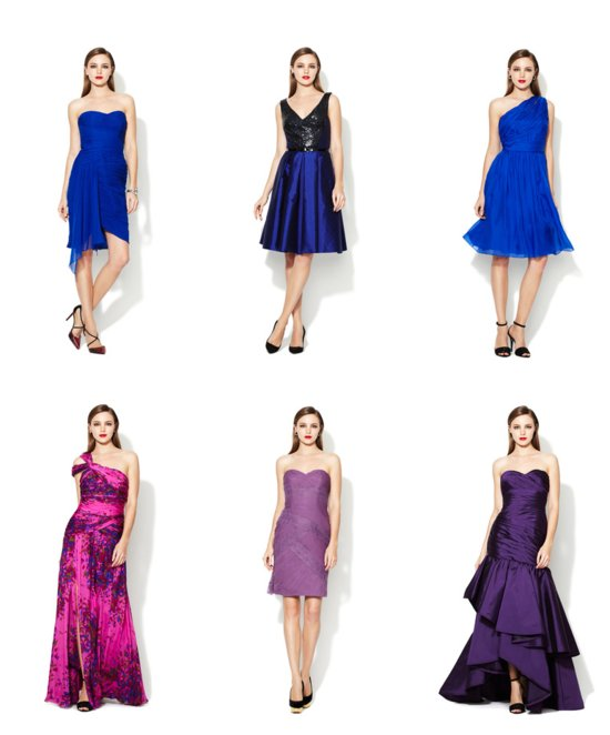 Bridal Bargains Monique Lhuillier Bridesmaids Dresses on Gilt