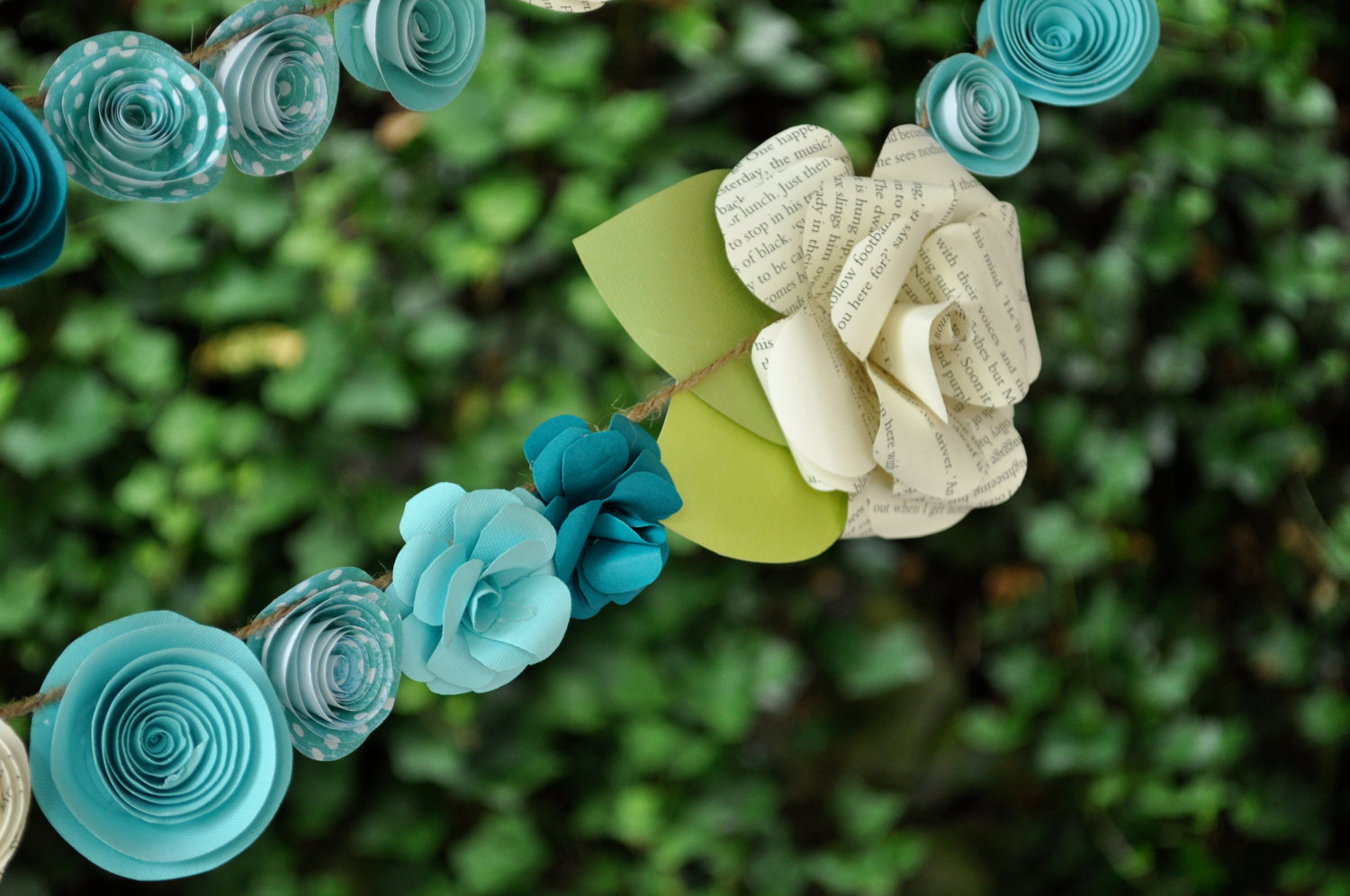 How To Make Paper Flower Garland For Wedding Flowers Healthy