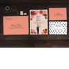Custom-wedding-invitation-suite-coral-black-illustrated.square