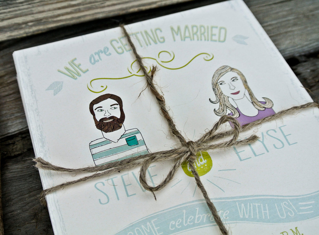 Rustic Boho Wedding Invitations