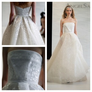 photo of 2013 Angel Sanchez Wedding Dresses Whimsical Ballgown