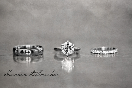 Gorgeous Engagement Ring Wedding Bands photo