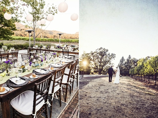 Outdoor Winery Wedding Romantic Venue
