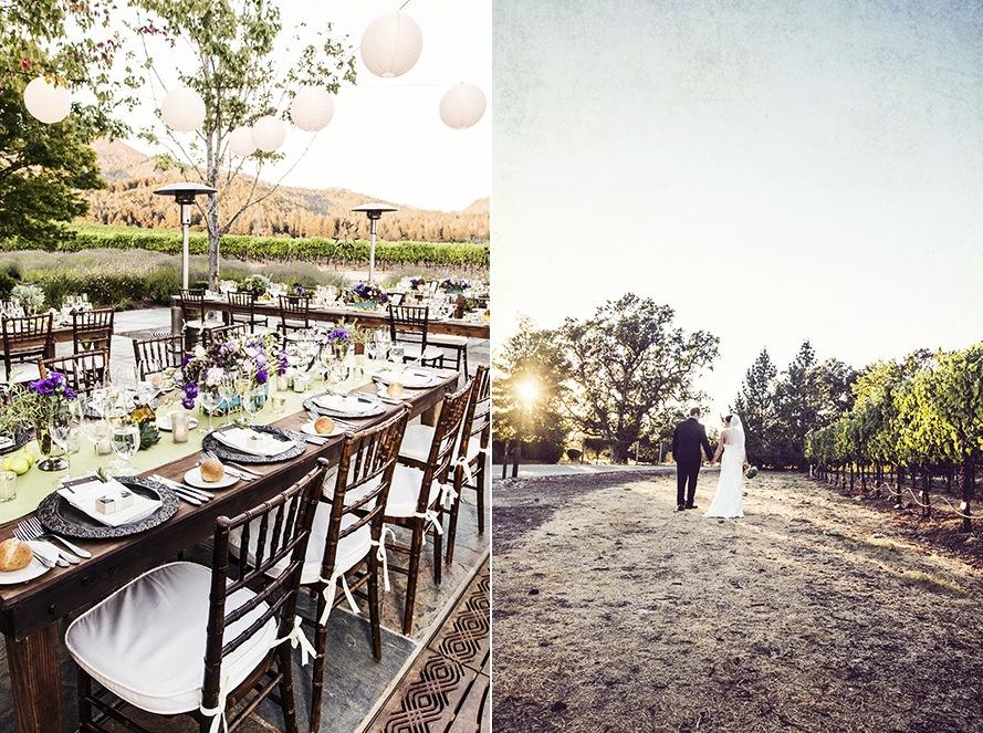 10 Romantic Outdoor Wedding Venues: Outdoor Winery Wedding Romantic Venue