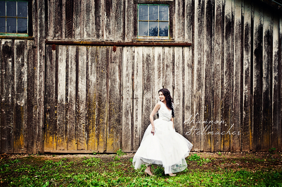 Rustic Barn Wedding Venue for California Bride