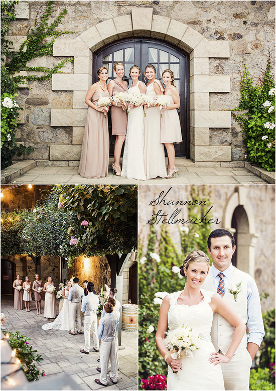 Classic Bridal Party Attire Mix and Match Neutrals