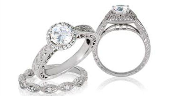Thejewelryhutbridaldiamondsenagementandweddingrings.full