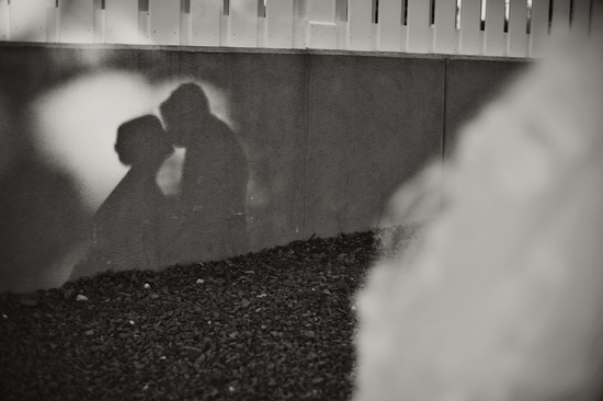 Gorgeous Wedding Photo in Black and White