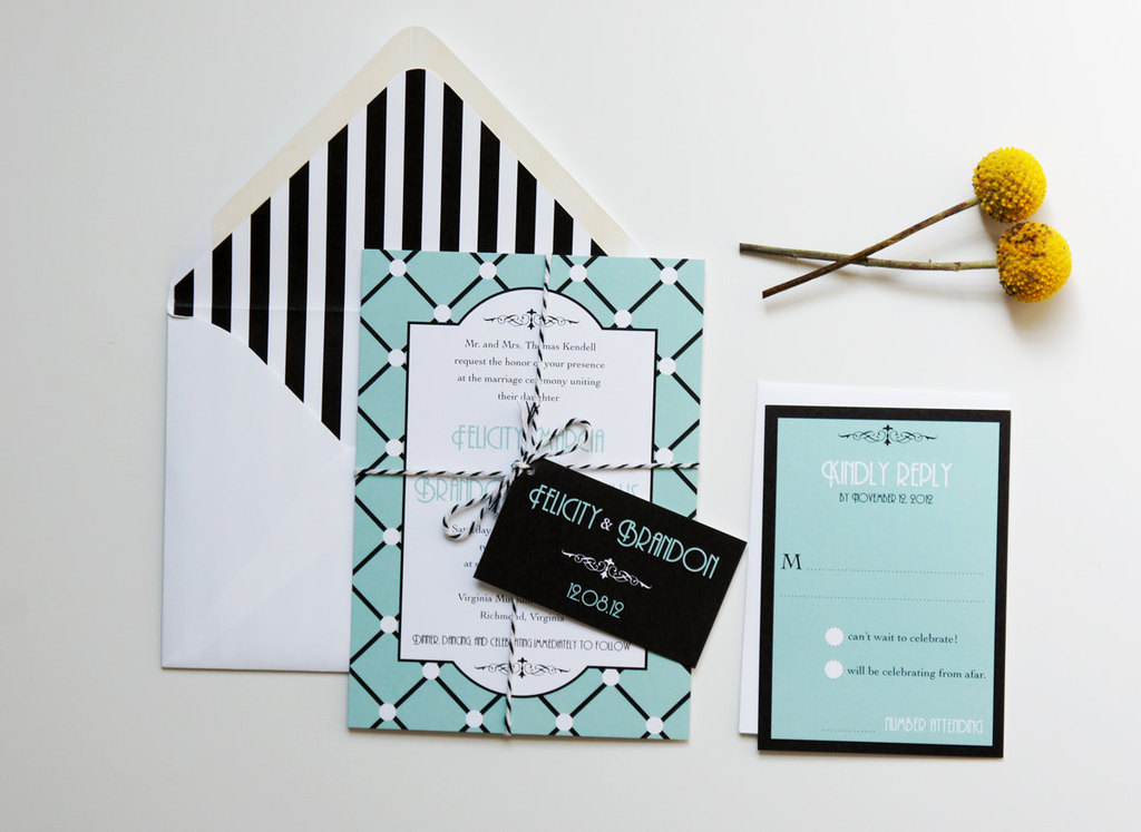 Light-teal-black-white-wedding-invitations-modern-art-deco.full