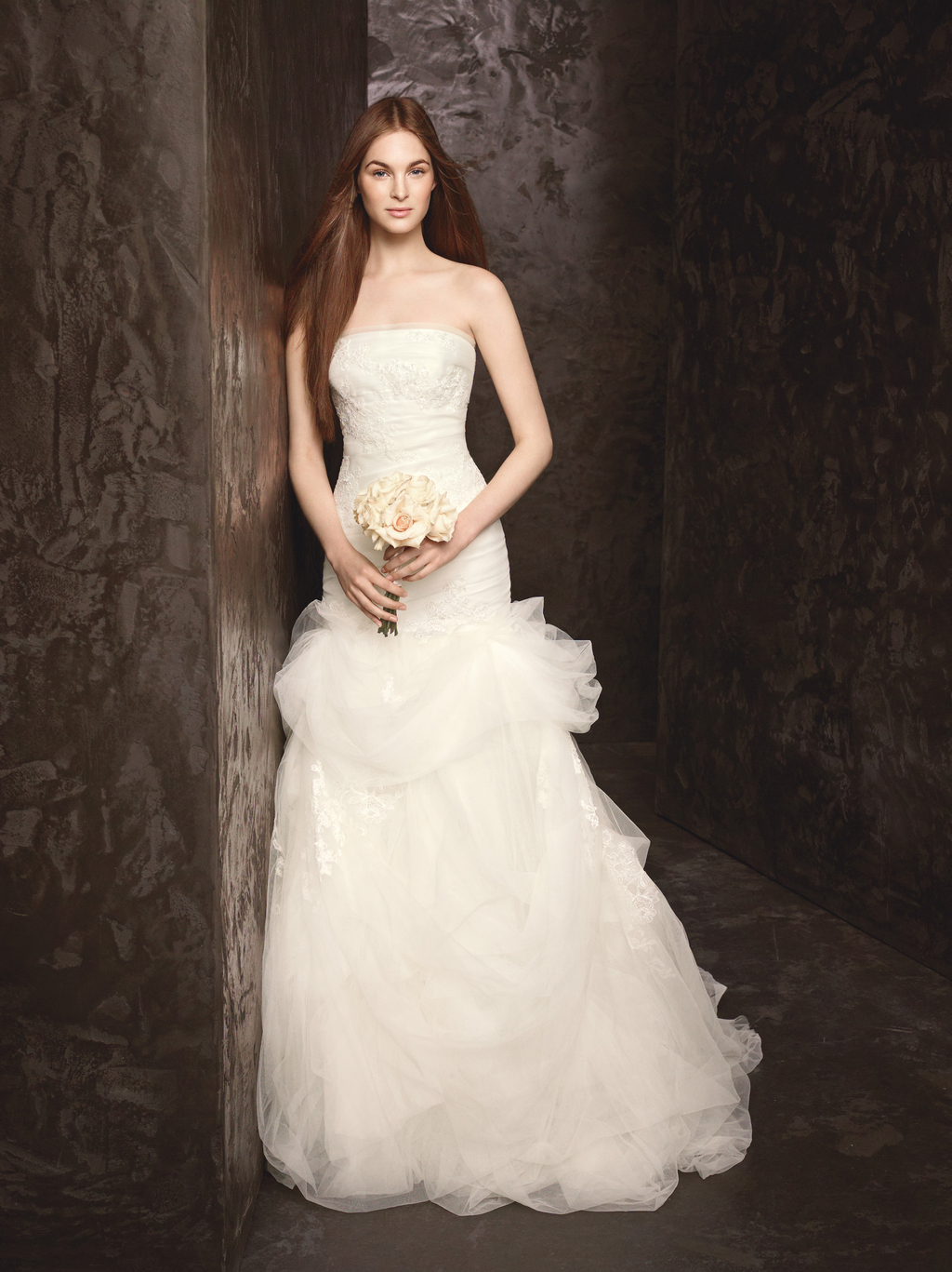 Spring 2013 Wedding Dress White by Vera Wang Bridal Gowns