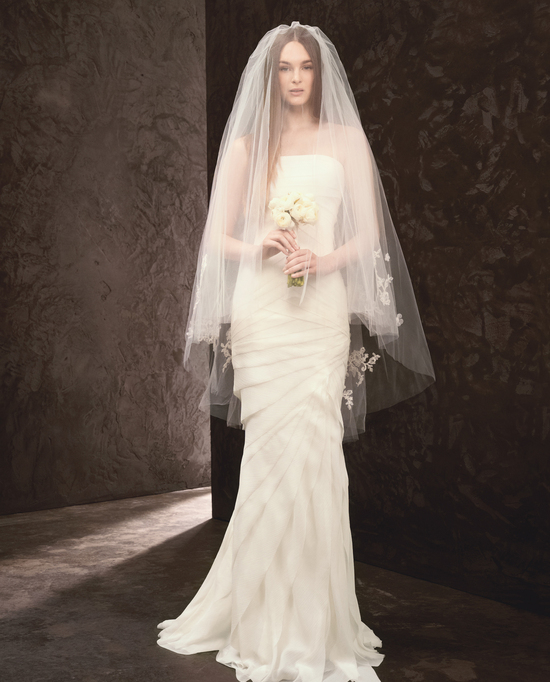 Spring 2013 Wedding Dress White by Vera Wang Bridal Gowns Style VW351146