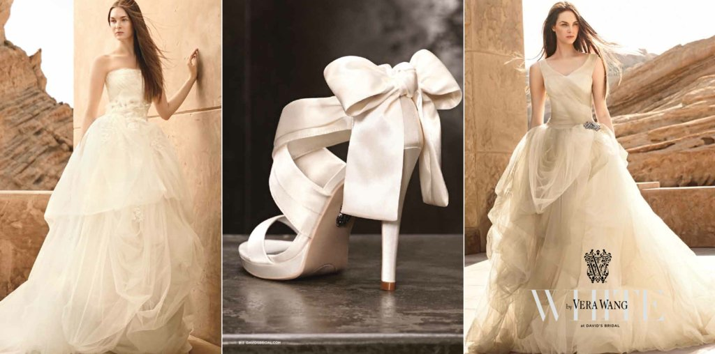 new bridal collection from white by vera wang onewed