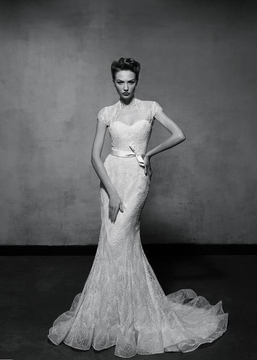 Vintage Glam Wedding Dress - Ocodea.com
